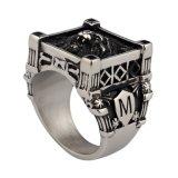 316L de Ring van de Gietende Mensen van uitstekende kwaliteit van de Leeuw van het Roestvrij staal Hoofd