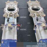 Cl150lbs/Pn10/Pn16 tramite la valvola a saracinesca della lama del condotto