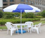 Promotion blanche en gros de 36inch 8K annonçant le parapluie de plage de jardin de Sun