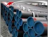 Tubo d'acciaio laminato a caldo del grande diametro ERW di api 5L/ASTM A53/BS1387/En10255 con verniciato o lubrificato