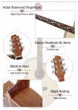 Китайская изготовленный на заказ акустическая электрическая гитара с дешевым ценой
