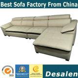 L形の卸売価格のオフィス用家具の革ソファー(A80)