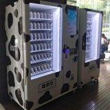 Máquina expendedora de la pantalla táctil para Voedsel y la bebida fría