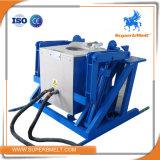 Energiesparende hydraulische kippenEdelstahl-schmelzende Maschine