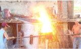 Furnanceを溶かす5トンの中間周波数の電気誘導