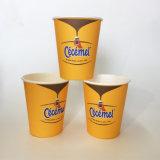 8 унции одноразовые одной чашки кофе нестандартной бумаги на стене