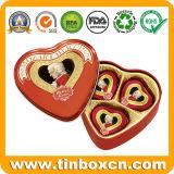 결혼식 발렌타인 선물은 초코렛을%s 심혼 주석 상자를 주문을 받아서 만들었다