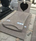 G732 forme de coeur de granit banc de pierre tombale Memorial/pierre tombale pour Netherland