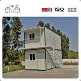 Het moderne Vlakke Pak van het Comité van de Sandwich prefabriceerde Modulair Huis/het PrefabHuis van het Bureau van de Bouw/van de Container