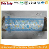 Pañales mágicos del bebé de la cinta del embalaje económico disponible de la fábrica de Fujian China