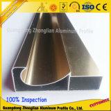 Cabinas de cocina de aluminio de la protuberancia de aluminio de la alta calidad