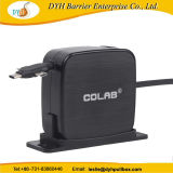 Оптовая торговля Wall-Mounted/3 м клея неподвижного выдвигаемая втягивающийся кабель USB мотовила