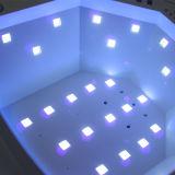 48W-24W LED 젤 못을%s 3개의 타이머 조정, Senor 및 발가락 못 치료를 가진 UV 못 램프