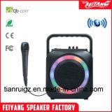 Colorida Luz Cable altavoz Bluetooth recargable baratos populares F105.
