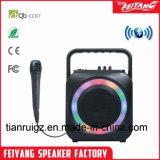 Kleurrijke Hoofd Lichte Populaire Goedkope Navulbare Bluetooth Spreker F105
