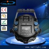 À prova de 4 PCS sem fio LED da bateria DMX luz PAR Controle infravermelho WiFi
