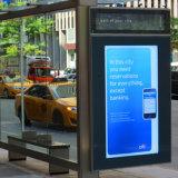 Digital-Bus-Schutz-Station LCD-Bildschirm-Bekanntmachensignage-Bildschirmanzeige
