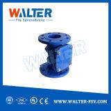 CF8m Preço da válvula de retenção de abertura e fechamento de Flange Pn10