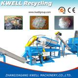 Rebut en plastique réutilisant la ligne de lavage des bouteilles de machine/animal familier/usine de réutilisation en plastique