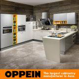 E1 Contrachapado estándar de borde plano todo en uno de acrílico de la unidad de gabinetes de cocina bricolaje (OP15-011)