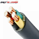 IEC estándar BS 0.6/1kv/Cu/XLPE SWA PVC/PVC/Cables de alimentación