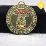 Esmalte de alta qualidade personalizada floco de Metal Ouro Medalha maçónica