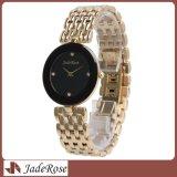 Montre d'or imperméable à l'eau de Rose, montres de quartz de dames