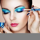 Juegos de pincel de maquillaje + 1PC Maquillaje lavar+1 PC caja de embalaje