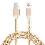 2.1A nylon tressé de chargement rapide d'aspiration téléphone mobile un câble USB