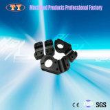 Qualitäts-schwarze anodisierte Aluminiumhalter-maschinelle Bearbeitung bereitgestellt