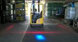 Riga rossa indicatore luminoso del Indicatore-Carrello elevatore LED/Laser di zona del carrello elevatore