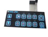Interruttore della tastiera della membrana con l'adesivo del LED 3m per lo strumento medico