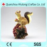 Generi svegli della resina vari di decorazione del giardino dei Figurines dello scoiattolo
