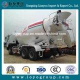 Sinotruk HOWO 6X4 12m3の具体的なミキサーおよびポンプトラック