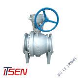 Industrielles Kugelventil der API6d 2PC Kohlenstoffstahl-/Edelstahl-Flansch-Enden-Kategorien-150/300 (lbs) für Manufacturer Company in China