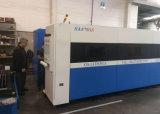 2000W máquina de corte láser de fibra con un sistema de extracción de polvo doméstico