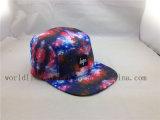 品質100%Polyesterデザインあなた自身の5つのパネルの帽子の帽子