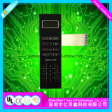 Teclado portátil do silicone, interruptor de controle durável da membrana do silicone