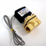 """3/8 """" di valvola elettrica ad azione diretta di piccola dimensione dell'acqua di sigillamento 24V di Viton di formato Vx2130-10"""