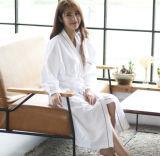 Albornoz/camisa de dormir/pijamas promocionales del hotel/caseras del terciopelo de las mujeres