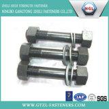 Boulon de goujon d'ASTM A193 B7/L7 avec la noix Hex lourde d'A194 2h