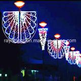3D Motivo de Natal Decoração de rua de luz das luzes de montagem em postalete