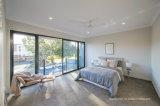 Puertas deslizantes de aluminio de los estándares del paso de progresión del patio inferior australiano de los travesaños