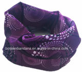 Purpere Polyester Multifunctionele Tubies Headwear van het Af:drukken van het Embleem van de fabriek de Opbrengst Aangepaste