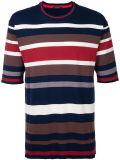 주문 도매 남자의 줄무늬로 한 t-셔츠