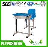 El mobiliario escolar de material plástico escritorio y silla (SF-27S)