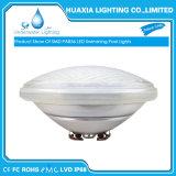 Luz subaquática da piscina do diodo emissor de luz do vidro impermeável PAR56