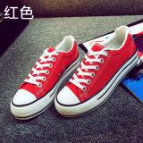 Подошвы женщин вебсайт Alibaba резиновый дешево отсутствие ботинок холстины черноты шнурка