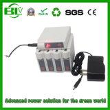 Il rilievo di riscaldamento ha riscaldato la batteria 7.4V 4.4ah dello Li-ione della cinghia del riscaldamento dell'involucro del collo