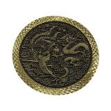 ほとんどの貴重な亜鉛合金の硬貨の買物車の硬貨のユーロの硬貨